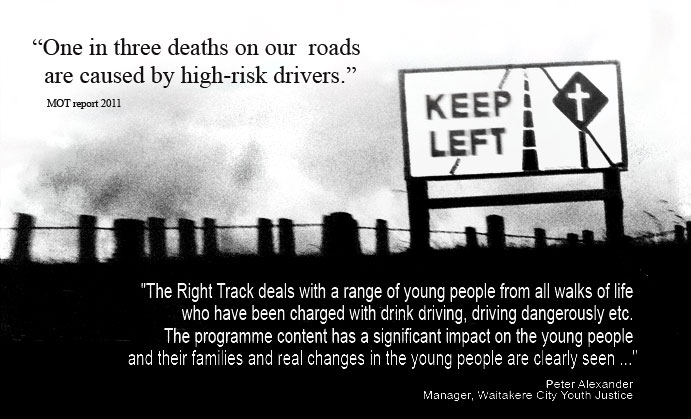 The Right Track - a driving related programme for changing young peoples lives